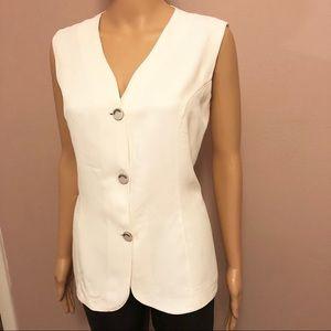Silk gabardine shirt size 12